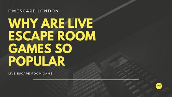 why are escape room games so popular