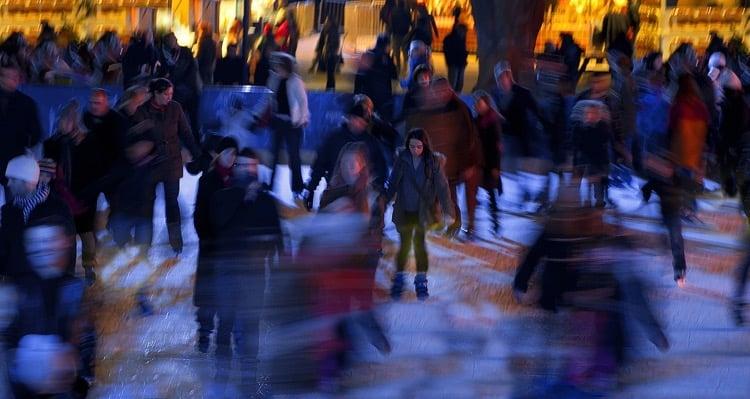 ice winter skating