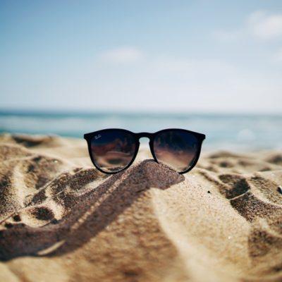 sand beach sunglasses